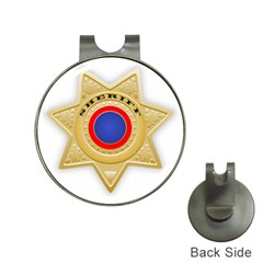 Sheriff S Star Sheriff Star Chief Hat Clips with Golf Markers