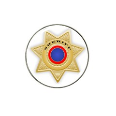 Sheriff S Star Sheriff Star Chief Hat Clip Ball Marker