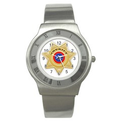 Sheriff S Star Sheriff Star Chief Stainless Steel Watch