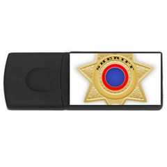 Sheriff S Star Sheriff Star Chief USB Flash Drive Rectangular (4 GB)