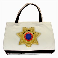 Sheriff S Star Sheriff Star Chief Basic Tote Bag (Two Sides)