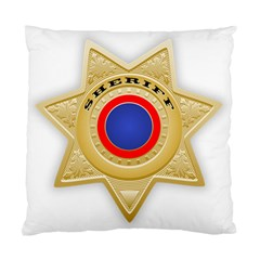 Sheriff S Star Sheriff Star Chief Standard Cushion Case (Two Sides)
