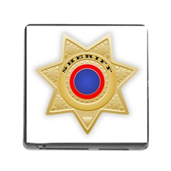 Sheriff S Star Sheriff Star Chief Memory Card Reader (Square)