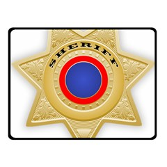 Sheriff S Star Sheriff Star Chief Fleece Blanket (Small)
