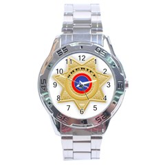 Sheriff S Star Sheriff Star Chief Stainless Steel Analogue Watch