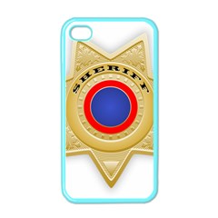 Sheriff S Star Sheriff Star Chief Apple iPhone 4 Case (Color)