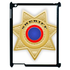 Sheriff S Star Sheriff Star Chief Apple iPad 2 Case (Black)