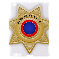 Sheriff S Star Sheriff Star Chief Apple iPad 3/4 Hardshell Case (Compatible with Smart Cover)