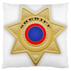 Sheriff S Star Sheriff Star Chief Large Cushion Case (Two Sides)