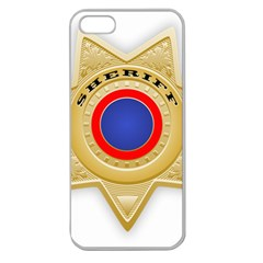 Sheriff S Star Sheriff Star Chief Apple Seamless iPhone 5 Case (Clear)