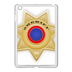 Sheriff S Star Sheriff Star Chief Apple iPad Mini Case (White)