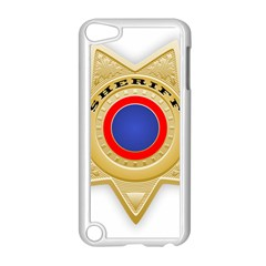 Sheriff S Star Sheriff Star Chief Apple iPod Touch 5 Case (White)