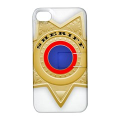 Sheriff S Star Sheriff Star Chief Apple iPhone 4/4S Hardshell Case with Stand