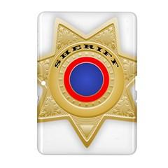 Sheriff S Star Sheriff Star Chief Samsung Galaxy Tab 2 (10.1 ) P5100 Hardshell Case
