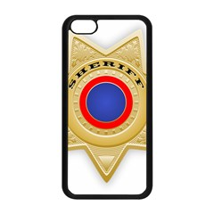 Sheriff S Star Sheriff Star Chief Apple iPhone 5C Seamless Case (Black)