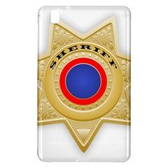 Sheriff S Star Sheriff Star Chief Samsung Galaxy Tab Pro 8.4 Hardshell Case