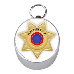 Sheriff S Star Sheriff Star Chief Mini Silver Compasses