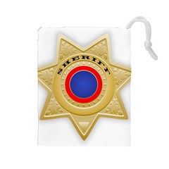 Sheriff S Star Sheriff Star Chief Drawstring Pouches (large)