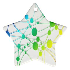 Network Connection Structure Knot Ornament (Star)