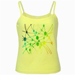 Network Connection Structure Knot Yellow Spaghetti Tank
