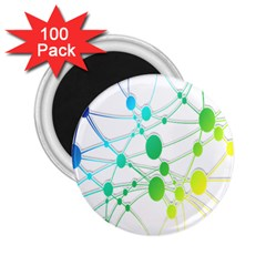 Network Connection Structure Knot 2.25  Magnets (100 pack)