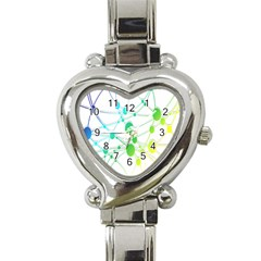 Network Connection Structure Knot Heart Italian Charm Watch