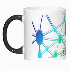 Network Connection Structure Knot Morph Mugs