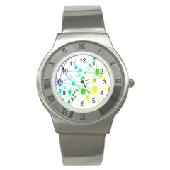 Network Connection Structure Knot Stainless Steel Watch