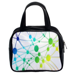 Network Connection Structure Knot Classic Handbags (2 Sides)