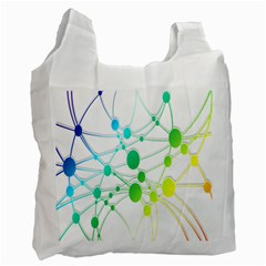 Network Connection Structure Knot Recycle Bag (One Side)