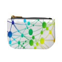 Network Connection Structure Knot Mini Coin Purses