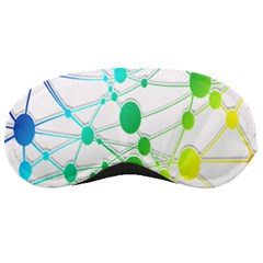Network Connection Structure Knot Sleeping Masks