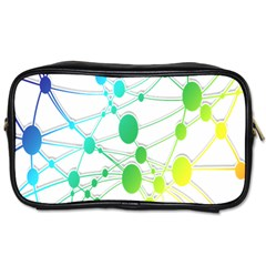 Network Connection Structure Knot Toiletries Bags