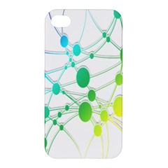 Network Connection Structure Knot Apple Iphone 4/4s Premium Hardshell Case