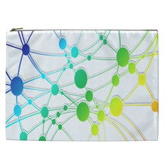 Network Connection Structure Knot Cosmetic Bag (XXL)