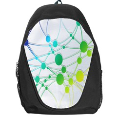 Network Connection Structure Knot Backpack Bag