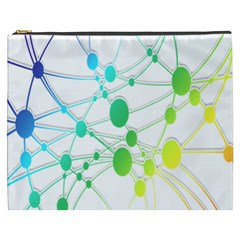 Network Connection Structure Knot Cosmetic Bag (XXXL)
