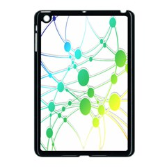 Network Connection Structure Knot Apple iPad Mini Case (Black)