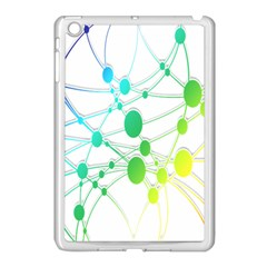 Network Connection Structure Knot Apple iPad Mini Case (White)