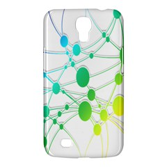 Network Connection Structure Knot Samsung Galaxy Mega 6.3  I9200 Hardshell Case