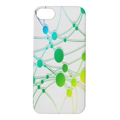 Network Connection Structure Knot Apple iPhone 5S/ SE Hardshell Case