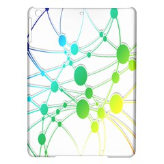 Network Connection Structure Knot iPad Air Hardshell Cases
