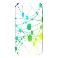 Network Connection Structure Knot Samsung Galaxy Mega I9200 Hardshell Back Case
