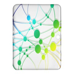 Network Connection Structure Knot Samsung Galaxy Tab 4 (10 1 ) Hardshell Case