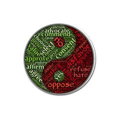 Tao Duality Binary Opposites Magnet 3  (Round)