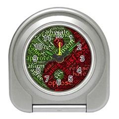 Tao Duality Binary Opposites Travel Alarm Clocks