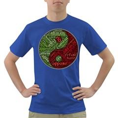 Tao Duality Binary Opposites Dark T-Shirt