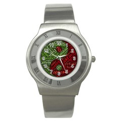 Tao Duality Binary Opposites Stainless Steel Watch