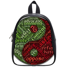 Tao Duality Binary Opposites School Bags (Small)