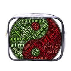 Tao Duality Binary Opposites Mini Toiletries Bags